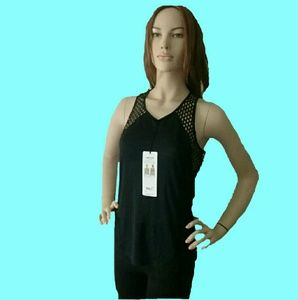 Alo Yoga CAGE TANK COOL COMFORT Black Color.